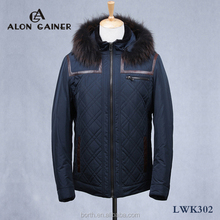 fashion fur sheepskin jacket winter coat outdoor jacket for men