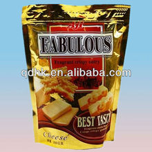 Aluminum foil plastic bag printing/ cookie packaging plastic bag supplier