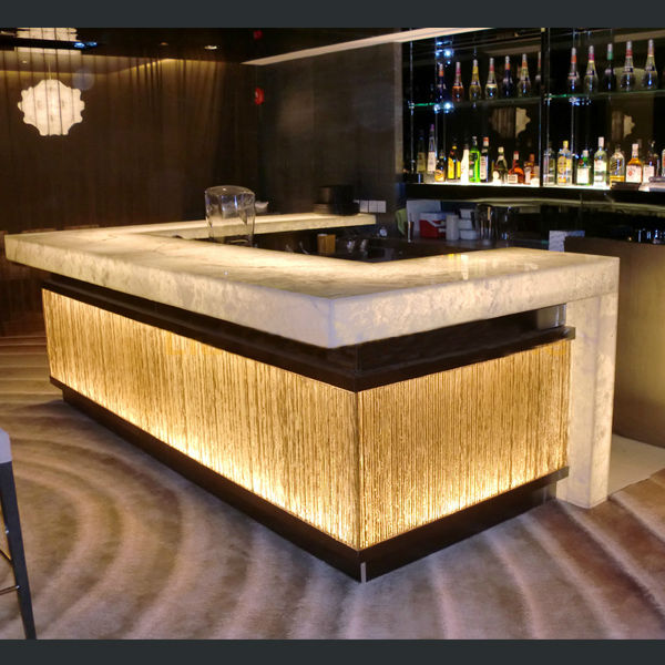 Hot sale modern design solid surface acrylic led effect small home bar counter for sale buy - House bar counter design ...