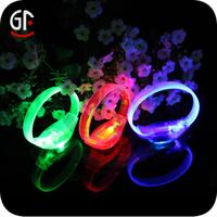 Gifts Manufacturer Clear Bright 8 Led Flashing Bracelet
