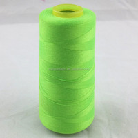 Different types high quality of polyester sewing threads