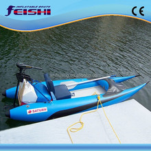 light and small easy to carry belly boat fly boat jet ski boat with air mat floor