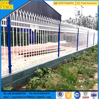 Different Types Scallop Clear Wrought Iron Picket Fences