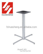 patio stainless steel table leg parts furniture legs