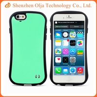Combo PC TPU colorful cell phone case for iPhone 5s