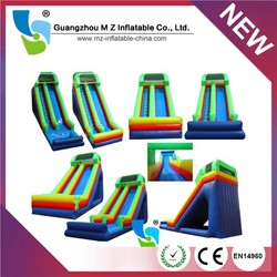 Inflatable water slide,giant inflatable water slide for sale