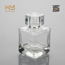110 ml cuadrado de la alta calidad de perfume vacía botella de vidrio