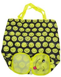 Luxury nylon foldable recycled shopping bag