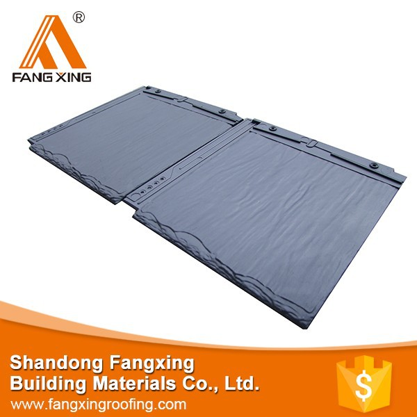 Wholesale in china roof tiles synthetic resin building for Synthetic roofing materials
