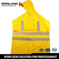 High Quality Impact Safety reflective raincoat