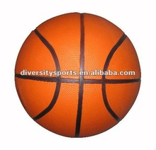 Best Seller Orange Color Rubber Basket Ball / Game Toy Ball