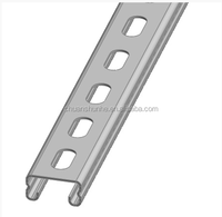 SS304 41*41*2.5 Steel Structure , Galvanized C channel
