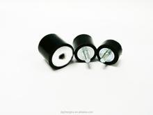 Adjustable rubber damper for machine or furniture