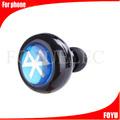 Mejor auricular bluetooth estéreo moda invisible para el conductor móvil Mini auricular Bluetooth inalámbrico