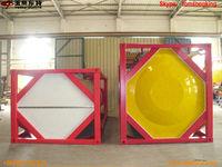Tank Container trailer for oil,LPG , Chemical, cement, bitumen etc. Tom King:86-15271357675 manufacturer