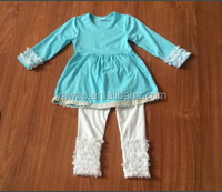 Wholesale children clothing distributors korean kids clothes wholesale kids cotton clothes baby girls boutique clothing sets