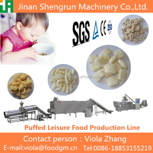 Commercial use medium scale rice pallet snack food plant/making machines