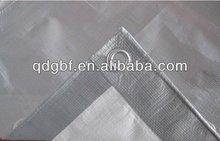 180gsm polyethylene tarpaulin&6.35oz waterproof sliver tarp