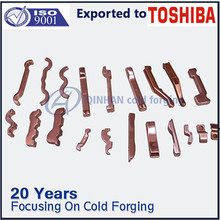 forged copper switchgear contact