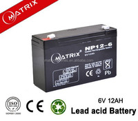 Electric Wheelchair useage AGM 6v12ah battery