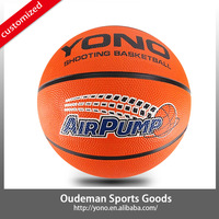 2015 YONO Rubber basketball / Classic orange basketball / Official size basketball