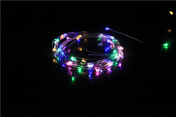 UL 20ft 120LED's Copper Wire LED Lights copper Wire LED Starry Light with Remote Controller