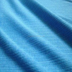 good quality elastic polyester fabric rib made by flat or circular knitted machine