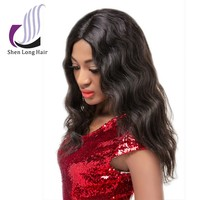 Fashionable new products body wave wig , hot selling indian remy hair wig shop , short human hair wig for black women