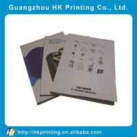 custom sample company brochure magzine
