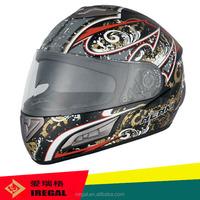 cool FF826 ski style helmet with visor customized