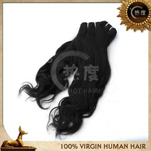 Peruvian Virgin Hair Extensions Natural Color Remy Virgin Hair Body Wave Human Hair Weave
