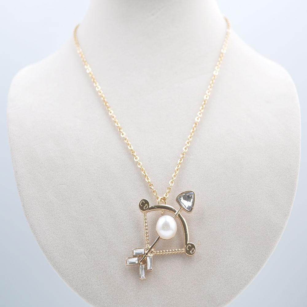 Caliente de la nueva manera de la perla con joyas de cristal arco y flecha gohe