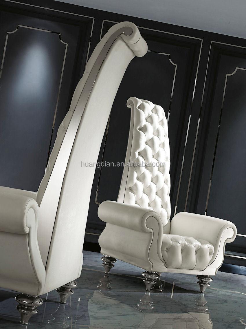 franse stijl wit hoge rug vleugel stoel te koop lobby meubilair ...