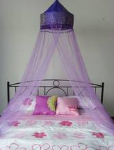 Unique Solid Purple Canopy Bed Frames