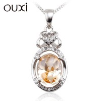 Silver Plated China Wholesale Fashion Jewellery Silver Pendant Y30200