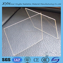 x-ray radiation protective lead glass ,leaded glass door inserts