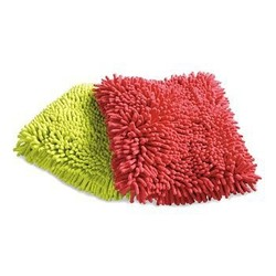 water absorbent microfiber terry chenille wash mitt
