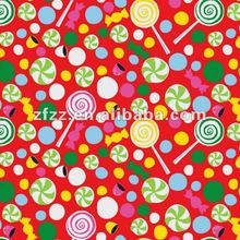 super soft lollipop print coral fleece fabric
