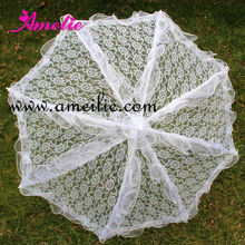 A0210 Cute White Umbrella for Party Favors