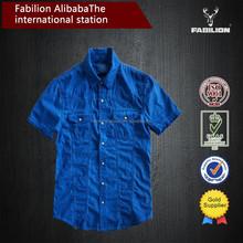 China wholesale new design slim fit clothing,women custom short sleeve shirt