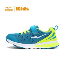 ERKE 2015 fashion bright color velcro closure brand child sneaker sports shoes in stock