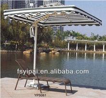modern leisure single aluminum beach sun loungers YPS061