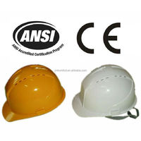 ABS safey work helmet with air hole construction helmet