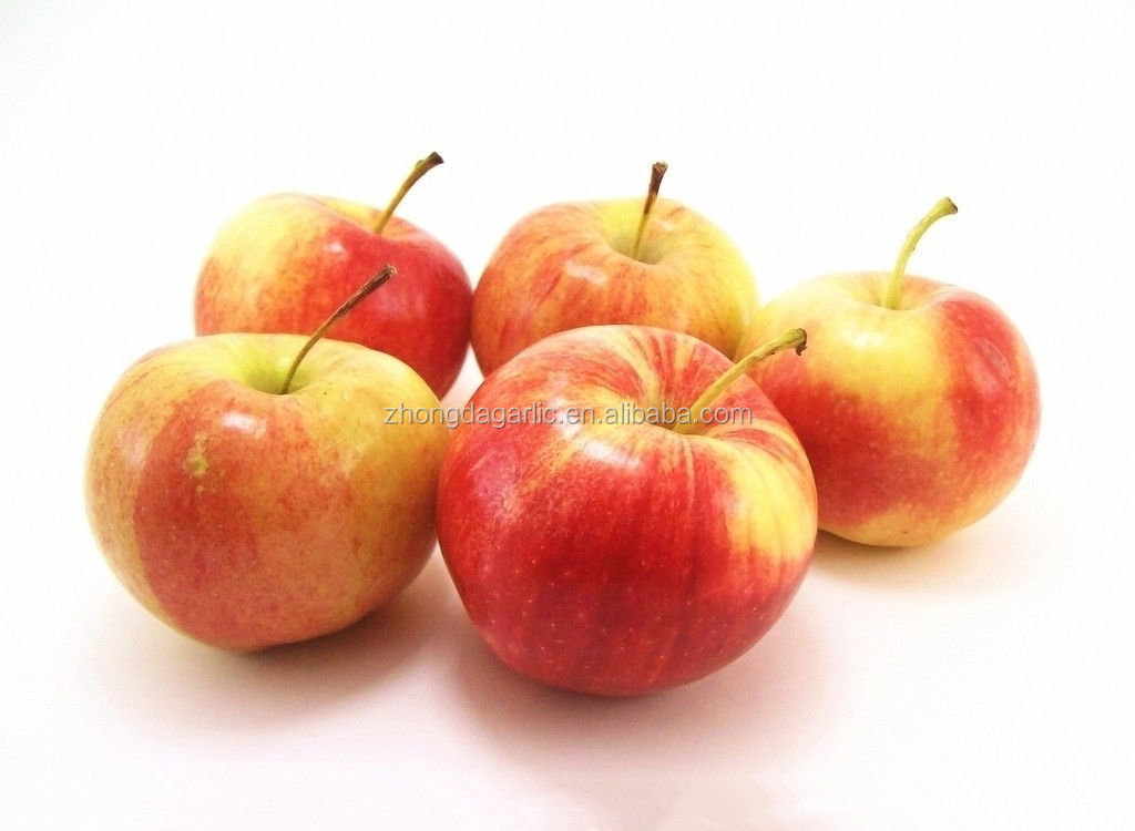 fuji apple and gala apple in china