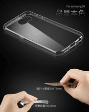 for samsung galaxy s6 mirror clear phone case for samsung galaxy s6