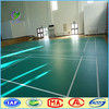 synthetic used badminton pvc used sport court flooring