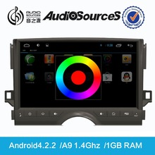 Audiosources : 2015 Car dvd player for toyotaa car with radio module, support for FM and AM, RDS station logo can