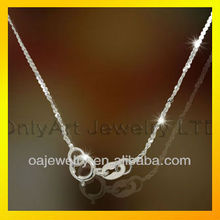 2012 hot selling quality 925 sterling silver chain