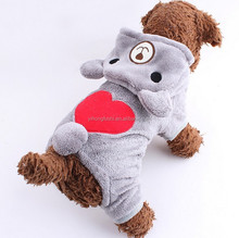 Bear Design Fleece Dog Products