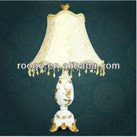 Zakka Resin antique lamp bedside lamp craft